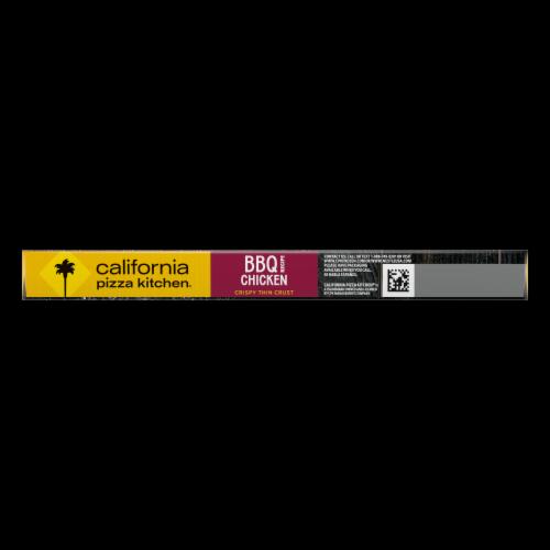 California Pizza Kitchen BBQ Chicken Recipe Crispy Thin Crust Pizza Perspective: left