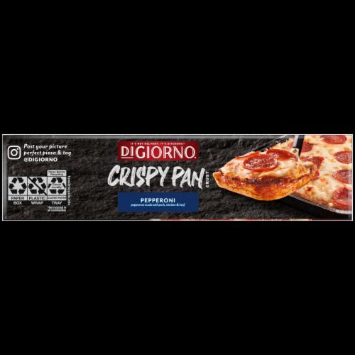 DiGiorno Crispy Pan Pepperoni Pizza Perspective: left