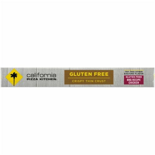California Pizza Kitchen Margherita Recipe Gluten Free Pizza Perspective: left