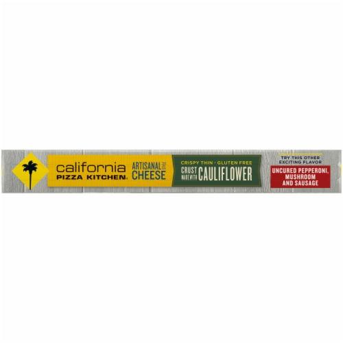 California Pizza Kitchen Artisanal Cheese Cauliflower Thin Crust Frozen Pizza Perspective: left