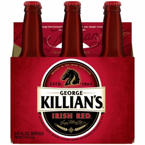George Killian's Irish Red Irish Lager Beer Perspective: left