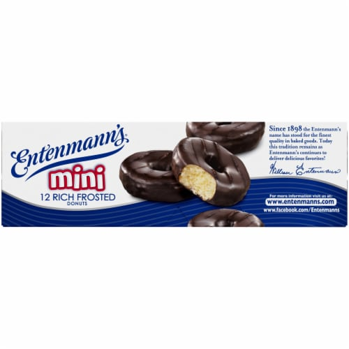 Entenmann's Rich Frosted Mini Donuts Perspective: left