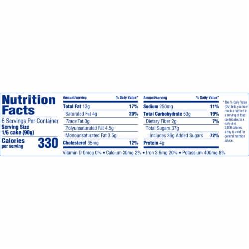 Entenmann's Chocolate Fudge Iced Cake Perspective: left