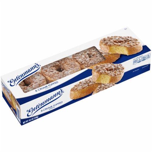 Entenmann's® Crumb Topped Donuts Perspective: left