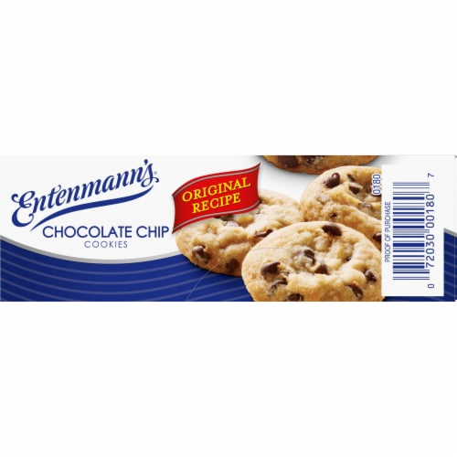 Entenmann's Chocolate Chip Cookies Perspective: left
