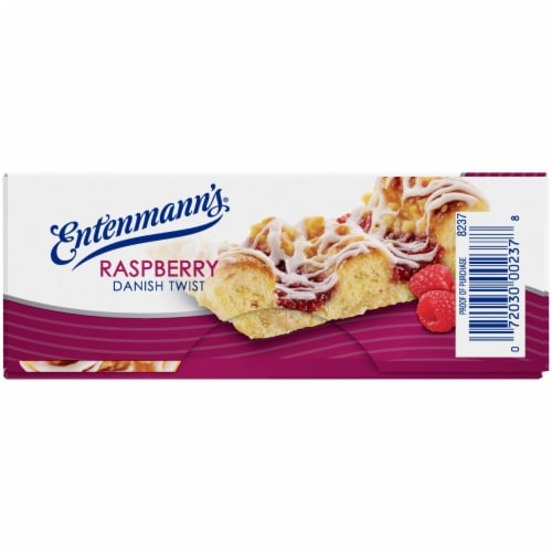 Entenmann's Raspberry Danish Twist Perspective: left