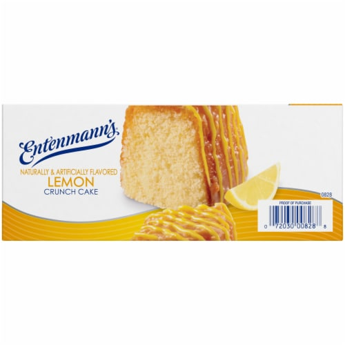 Entenmann's® Lemon Crunch Cake Perspective: left