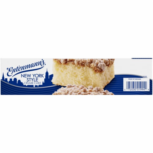 Entenmann's New York Style Crumb Cake Perspective: left