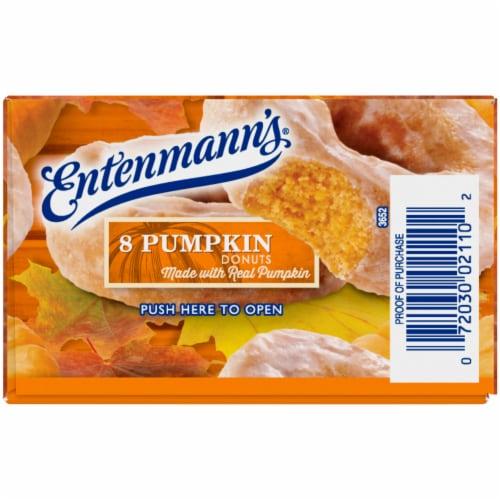 Entenmann's® Pumpkin Donuts Perspective: left