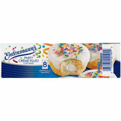 Entenmann's® Party Creme Filled Cupcakes Perspective: left