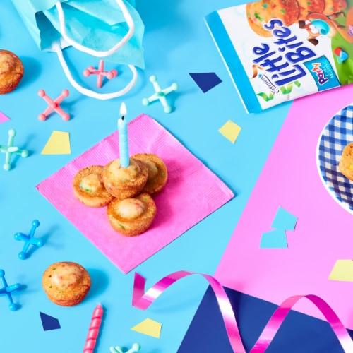 Entenmann's Little Bites Party Cakes Mini Muffins Pouches Perspective: left
