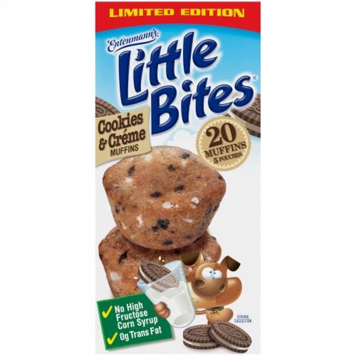 Entenmann's Little Bites Cookies & Creme Mini Muffins Perspective: left