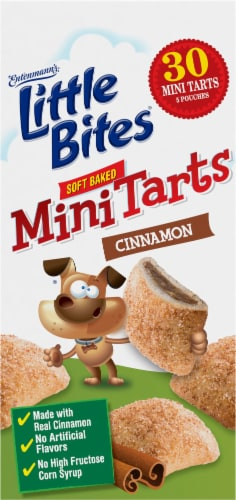 Entenmann's® Little Bites® Cinnamon Soft Baked Mini Tarts Perspective: left