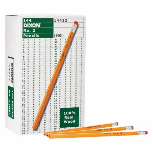 Dixon No. 2 Pencils - Yellow Perspective: left