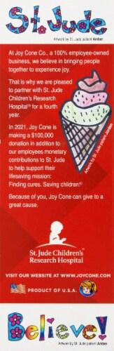 Joy Chocolate Chip Cookie Cones Perspective: left