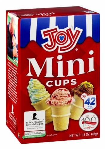 Joy® Mini Cups Perspective: left