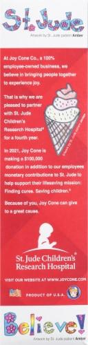 Joy® OREO® Pieces Sugar Cone Perspective: left