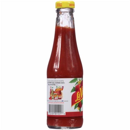 La Victoria Medium Red Taco Sauce Perspective: left