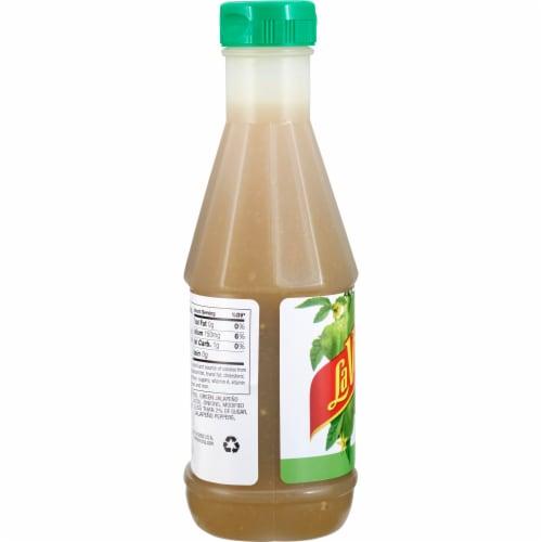 La Victoria Mild Green Taco Sauce Perspective: left