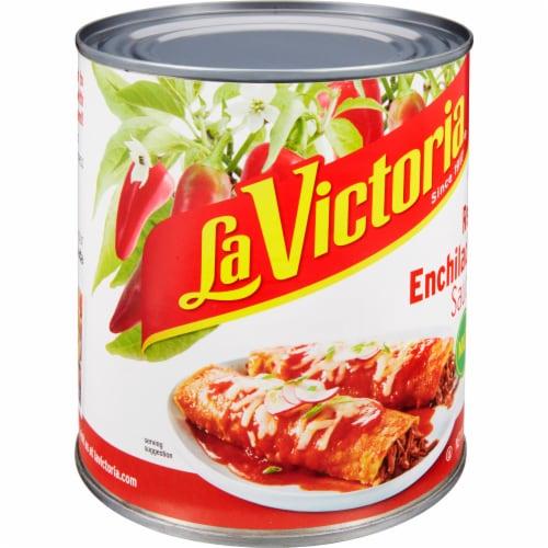 La Victoria Mild Red Enchilada Sauce Perspective: left