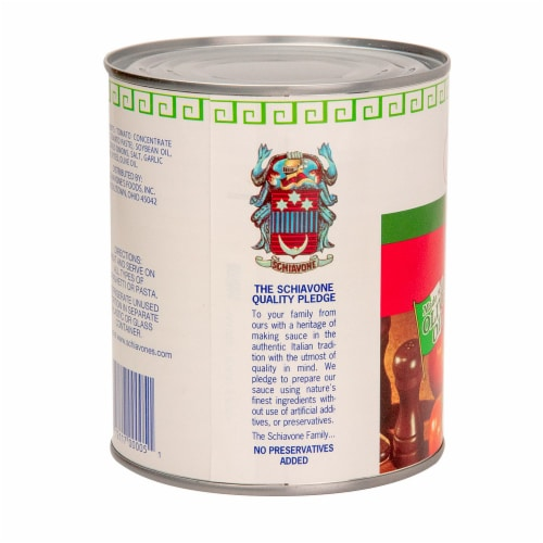 Schiavone's All Purpose Italian Sauce Perspective: left