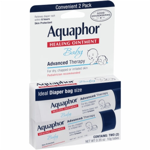 Aquaphor Healing Ointment Baby Advanced Therapy Perspective: left
