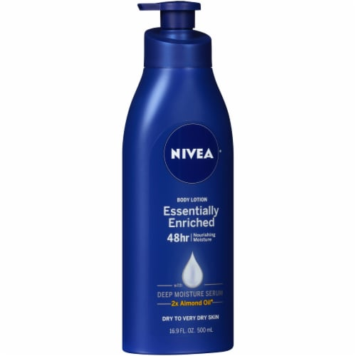 Nivea Essentially Enriched Nourishing Moisture Body Lotion Perspective: left