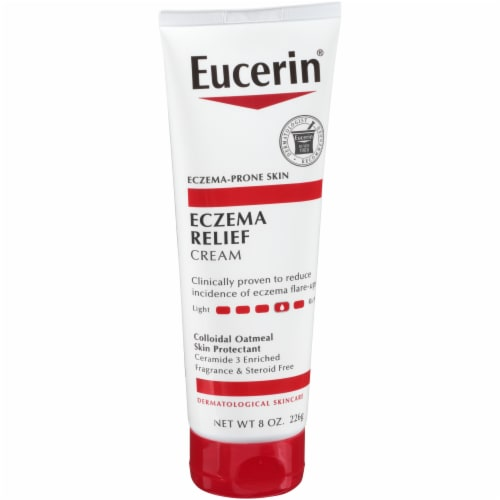 Eucerin Eczema Relief Body Cream Perspective: left