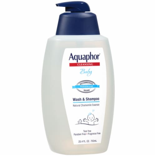 Aquaphor Cleansing Baby Wash & Shampoo Perspective: left