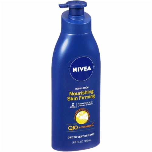 Nivea Nourishing Skin Firming Body Lotion Perspective: left