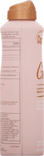 Coppertone Glow with Shimmer Lightweight Sunscreen Spray SPF 30 Perspective: left