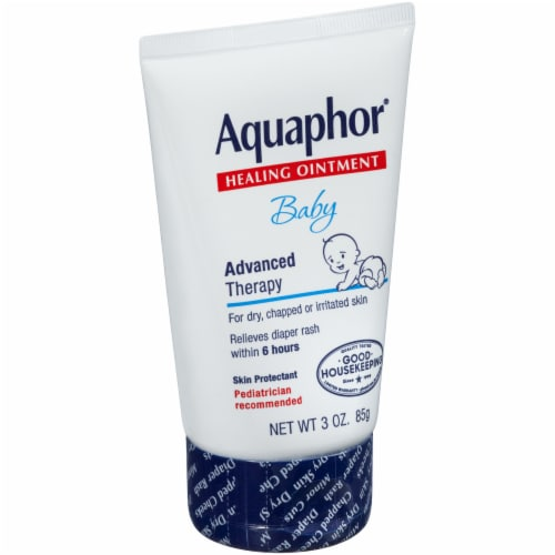 Aquafor Advanced Therapy Baby Healing Ointment Perspective: left