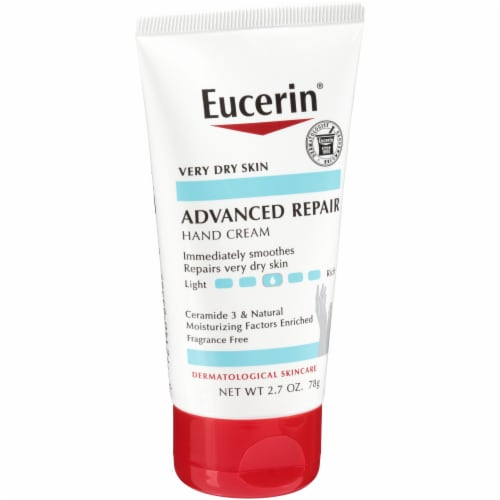 Eucerin Advanced Repair Hand Cream 2.7 oz Perspective: left