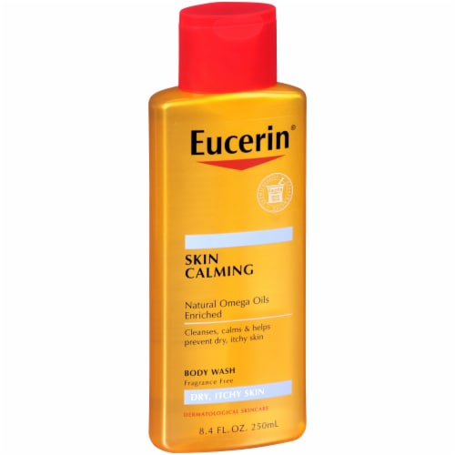 Eucerin Skin Calming Body Wash Perspective: left