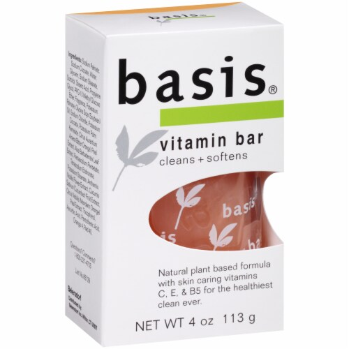 Basis Vitamin Bar Soap Perspective: left