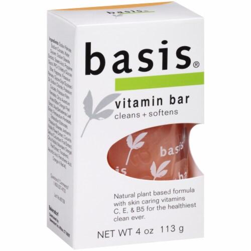 Basis Vitamin Bar Soap Perspective: left