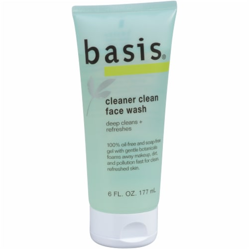 Basis Cleaner Clean Face Wash 6 fl oz Perspective: left