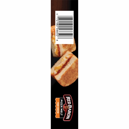 Red Baron Four Cheese Pizza Melt Perspective: left
