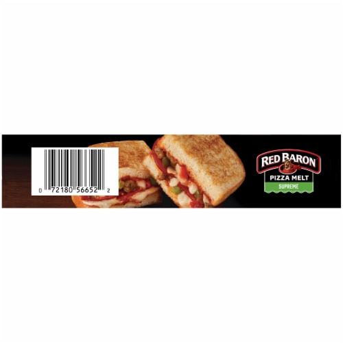 Red Baron Supreme Pizza Melt Perspective: left