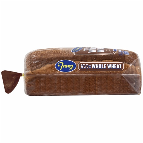 Franz® 100% Whole Wheat Bread Perspective: left