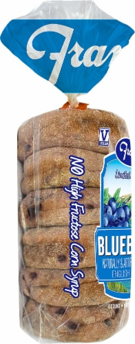 Franz Limited Edition Blueberry English Muffins Perspective: left