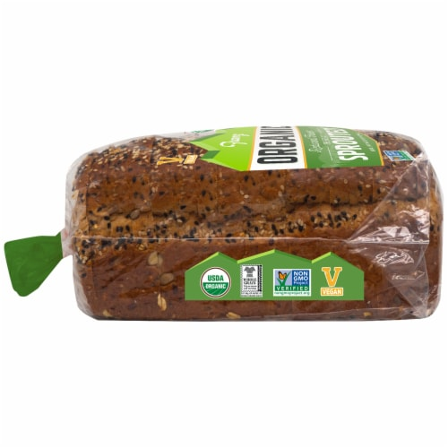 Franz® Organic The Great Sprouted Bread Perspective: left
