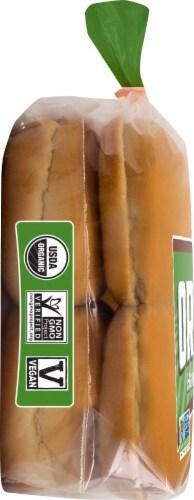 Franz Organic Hamburger Buns Perspective: left