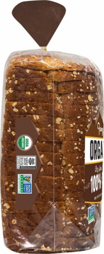 Franz® Organic Big Horn Valley 100% Whole Wheat Bread Perspective: left