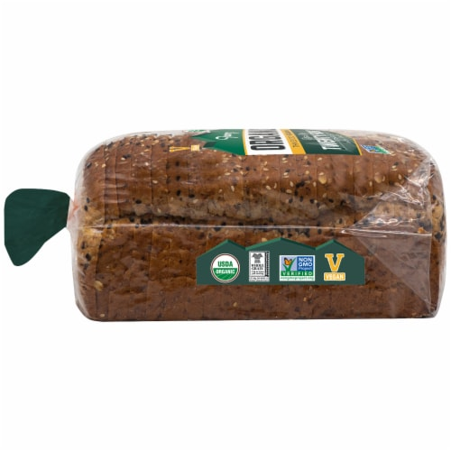 Franz Rogue River Organic Twenty-Four Thin Sliced Bread Perspective: left