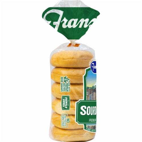 Franz Sourdough Premium Bagels Perspective: left