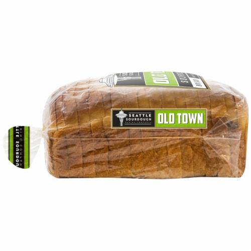 Seattle Sourdough Baking Co. Old Town Sourdough Bread Perspective: left