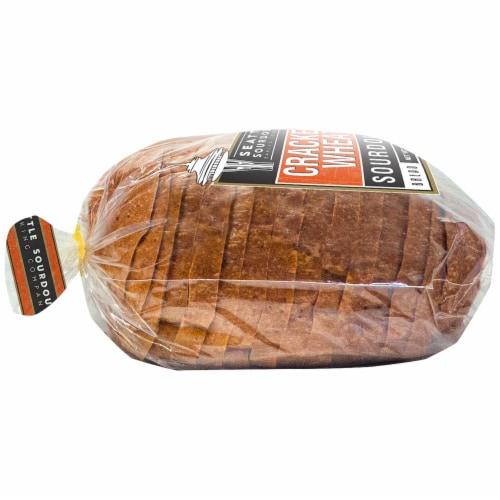 Seattle International Cracked Wheat Sourdough Bread Perspective: left