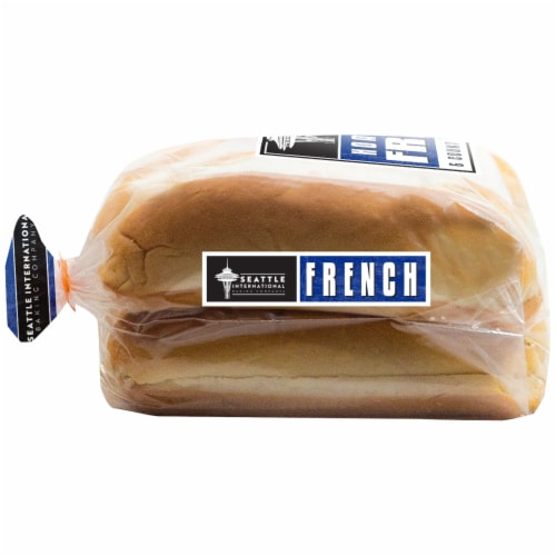 Seattle International French Baking Company Hoagie Rolls Perspective: left