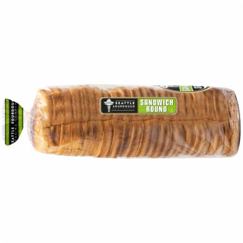 Seattle Sourdough Baking Co. Sandwich Round Sourdough Bread Perspective: left